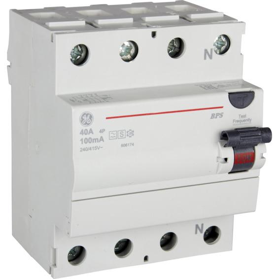 Jordfeilbryter BPS4 40/100 EFA S