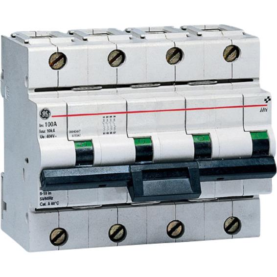 Effektbryter HTI 104 C 125A 4-Pol Modulær 10kA