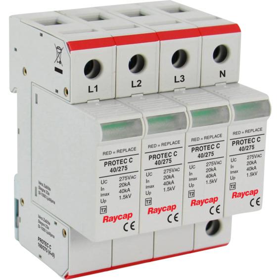 Overspenningsvern Protec 4-pol C160/275V 20KA EFA