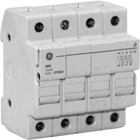 Sikringsholder 125A 3Pol  6 moduler 400V