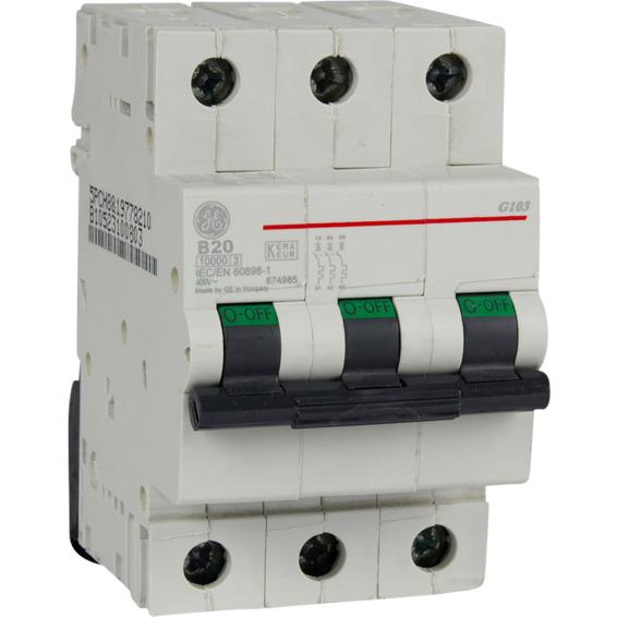 Automatsikring G103 B 20  20A EFA
