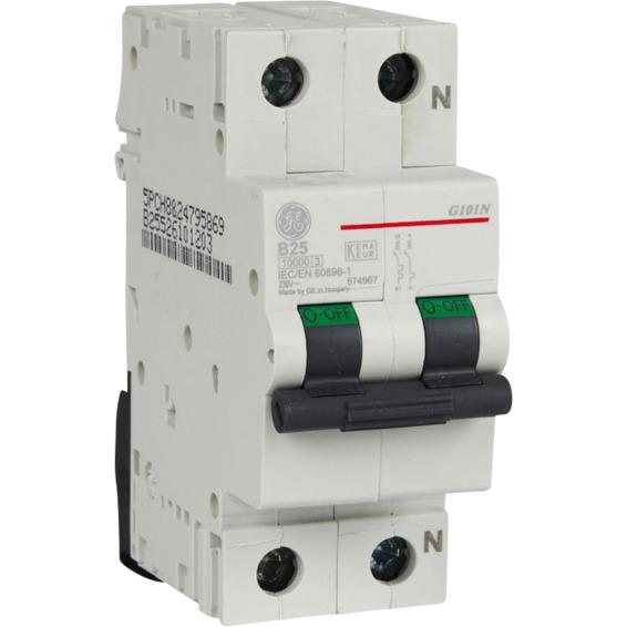Automatsikring 1 Pol+N 25 A B Kar.2 Moduler EFA