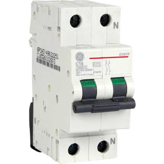Automatsikring 1 Pol+N 16 A C Kar.2 Moduler EFA