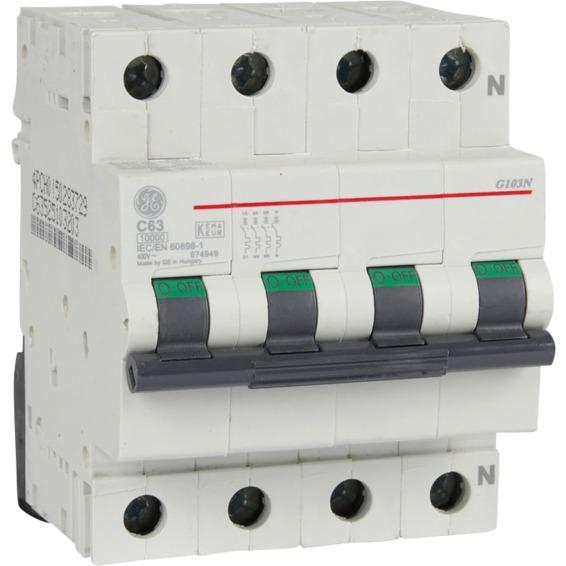 Automatsikring G103N C 63  63A EFA
