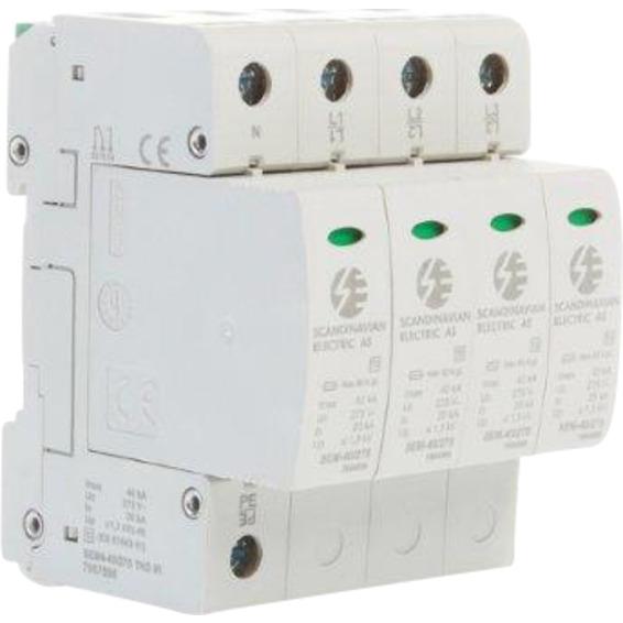 Overspenningsvern SEM4-40/275 TNS pluggbart 4 p