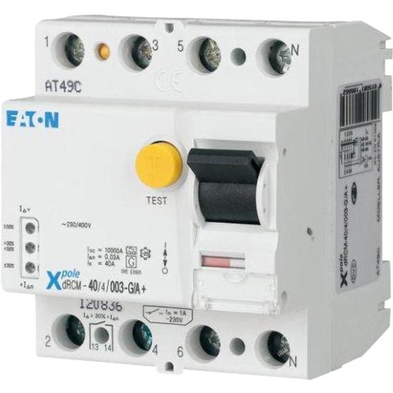 Digital Jordfeilbryter 40A 4p 30mA 10mS FRCDM-40/4/003-G/B+