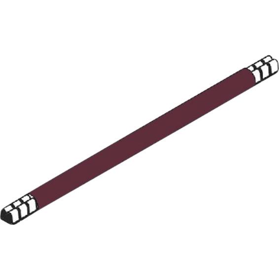 Lask 265 mm brun 10mm² enkel