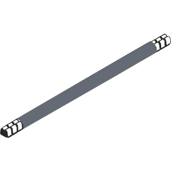 Lask 265 mm grå 10mm² enkel