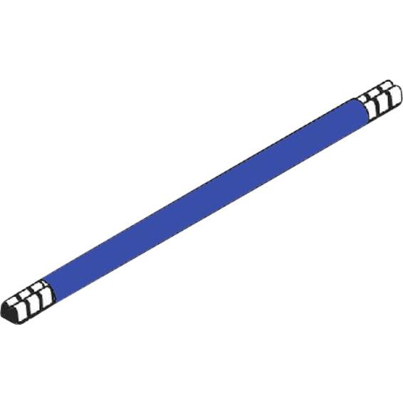 Lask 265 mm blå 10mm² enkel
