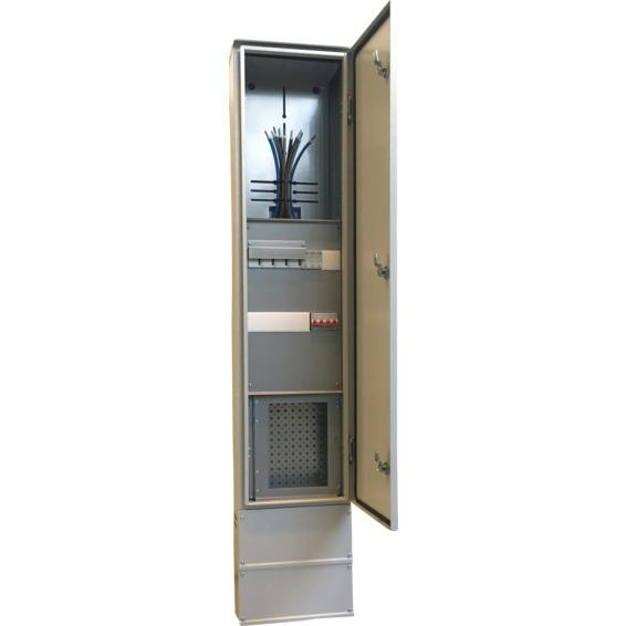 TKS Tilknytningsskap ferdigkoblet 230V Smal H150 EFA
