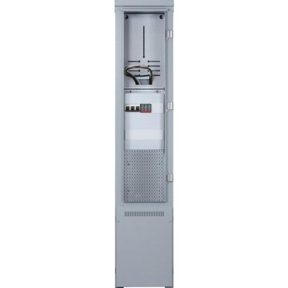 Tilknytningsskap TKS 80-125A sylind IT/TT 30 grå ferdigkobl
