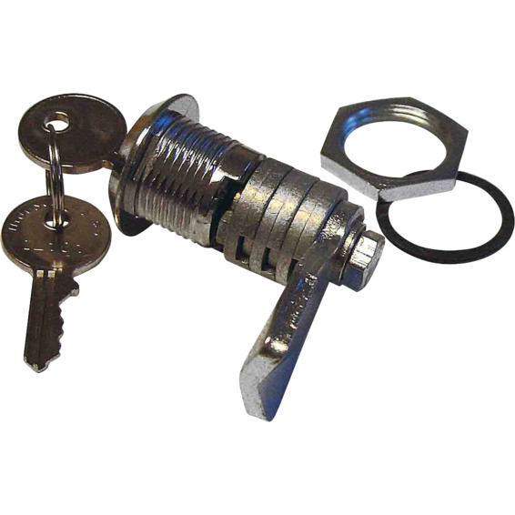 Sylinderlås C101 med 2 nøkler for Nebb/Esk skap