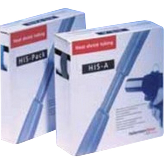 Krympeslange HIS-A 6,0/2,0mm 5m Sort M/LIM