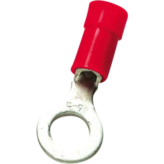 Isolert ringkabelsko A1543R Rød 0,5-1,5mm²