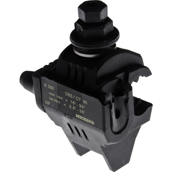 Avgreningsklemme isolert 2,5-35/16-95mm² K332