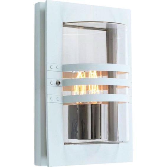 Ekeberg utelampe vegg matt hvit 1x60w E27 IP44