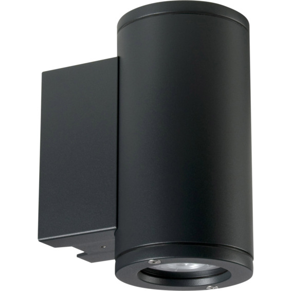 Unilamp Tube 5007 Wall Up/Down 6,5W LED GU10 IP65 Grafitt