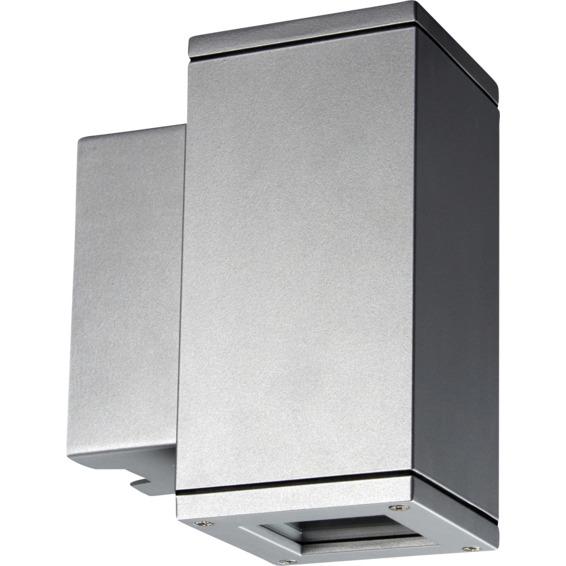 Unilamp Core 5115 Wall Up/Down 6,5W LED GU10 IP65 Sølv