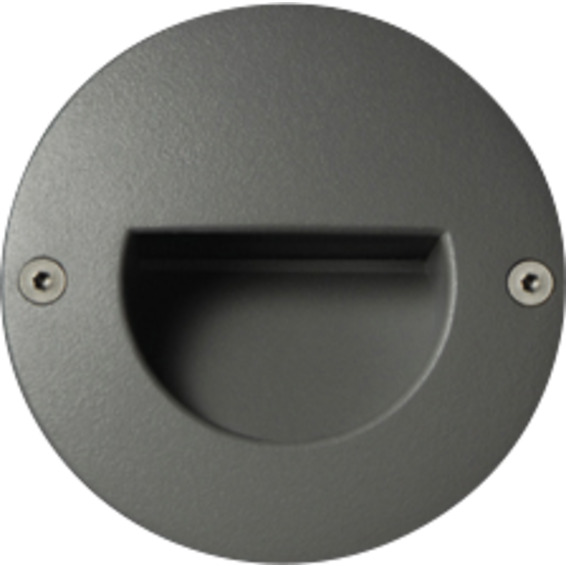 Unilamp Dot LED Round Ramp 6052 1,4w 3000K 350mA DC Grafitt