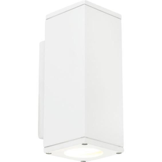 SANDVIK 792 HVIT 2x4W LED, GU10, IP54, KL I
