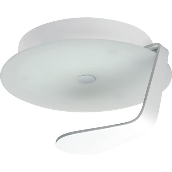 Fuji Glass 22 LED 9W Hvit IP44