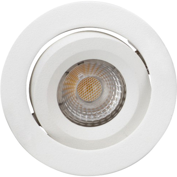 Attila LED Downlight AC Tilt 8W Matt Hvit