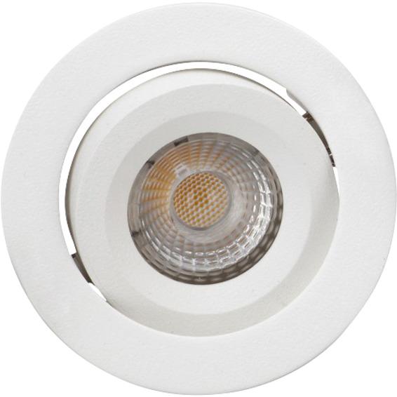 Attila LED Downlight AC Tilt 8W Matt Hvit
