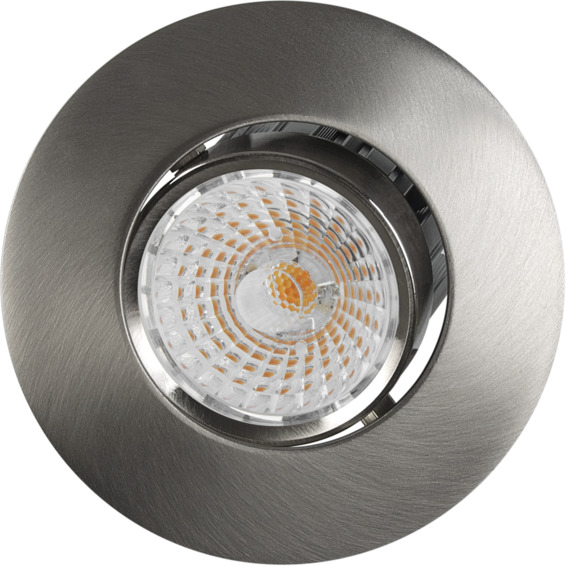 Altea Tilt LED Downlight 8W Børstet Stål IP20