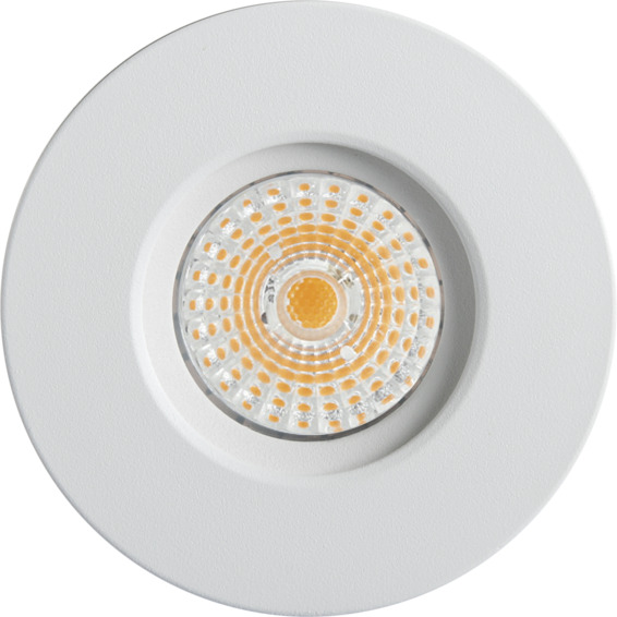 Altea Fast LED Downlight 8W Matt Hvit IP44