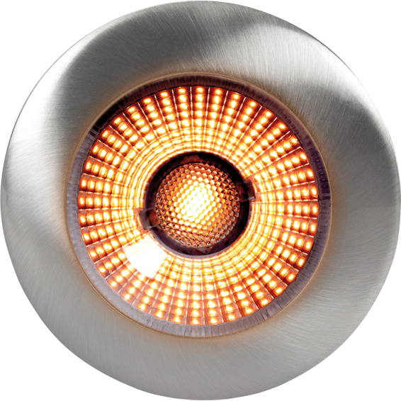 UnoCob+ 4W WarmDim 160mA Børstet Stål