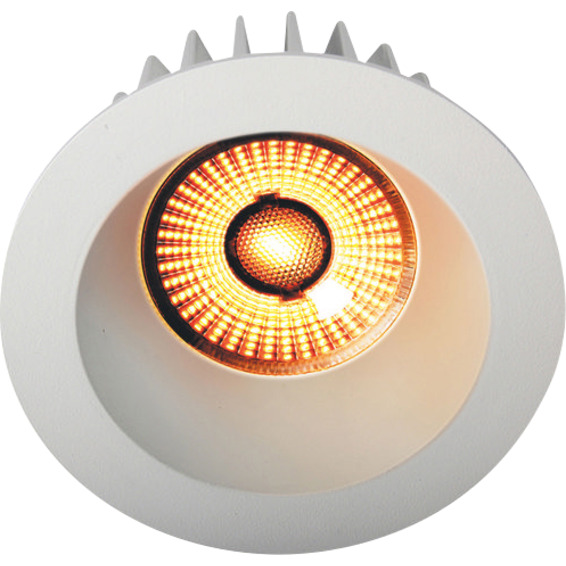 Juno Soft Cob+ 10W WarmDim Downlight Matt Hvit