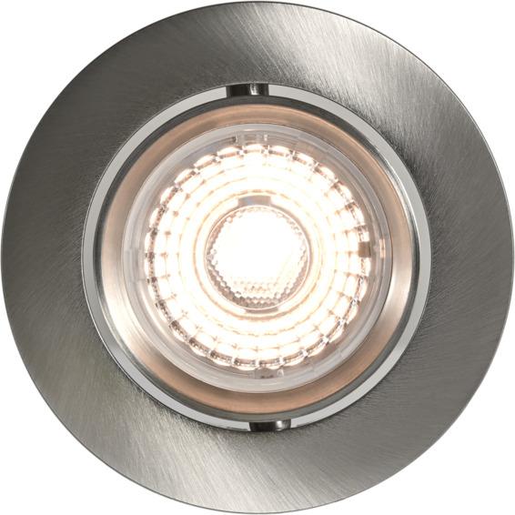 Alfa LED Warmdim 10W Børstet Stål IP44