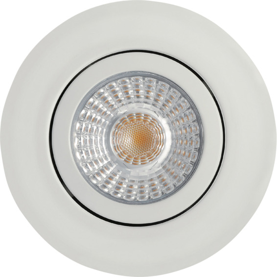 Alto Tilt LED Downlight 6W Matt Hvit