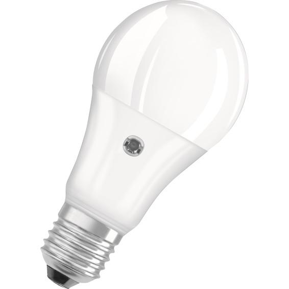 Led pære med fotocelle 8,5W/827 E27