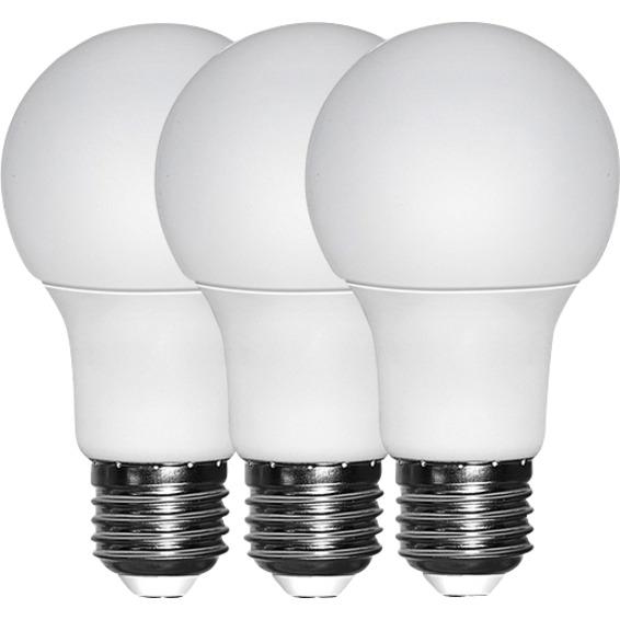 LED Pære 9W E27 3 Pk