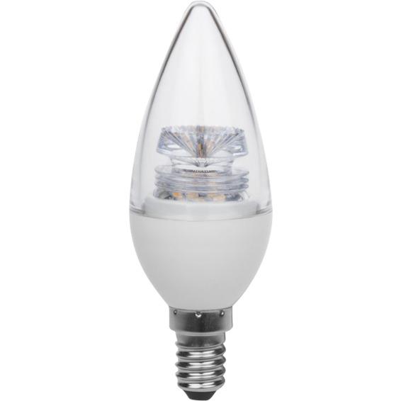LED Mignon 4,5W E14 Crystal