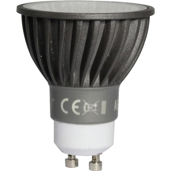 LED Pære Dimbar 6W GU10 Sølv