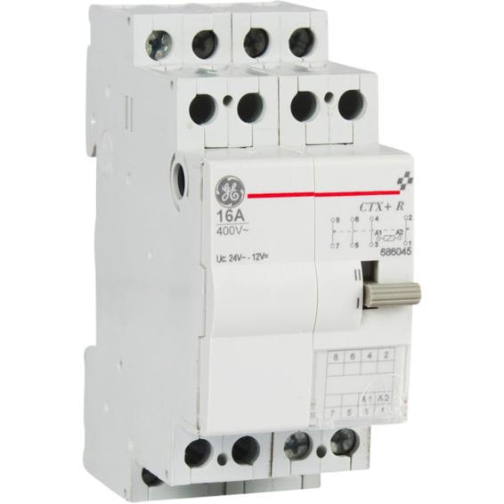 Modulrele 16A 24VAC 2NO+2NC 2M