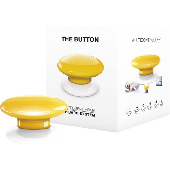 Fibaro The Button gul Z-Wave