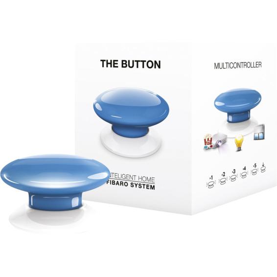 Fibaro The Button blå Z-Wave