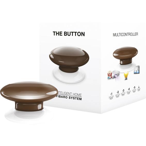 Fibaro The Button brun Z-Wave