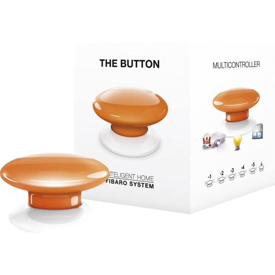 Fibaro The Button orange Z-Wave