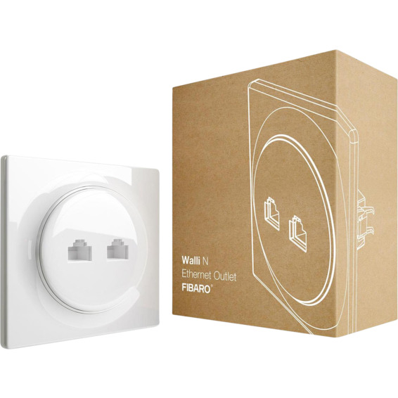 Fibaro Walli N Ethernet Socket