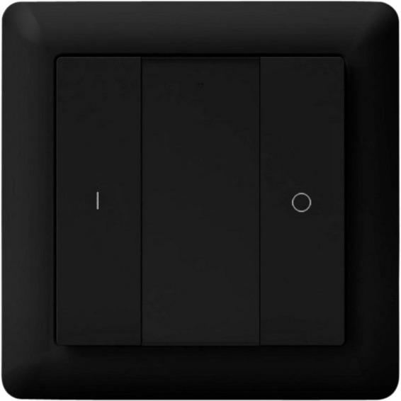 Heatit Z-Push Button 2 Black