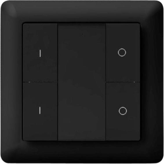 Heatit Z-Push Button 4 Black