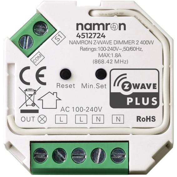Namron Z-Wave dimmer 2 400W