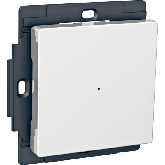 Exxact RF trykknapp 1-kanal hvit