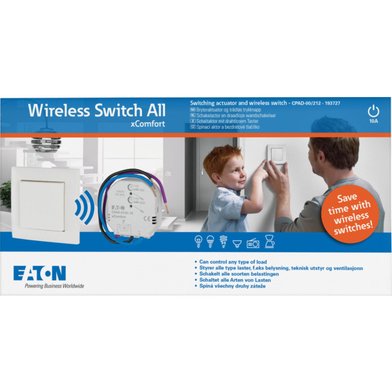 xComfort Wireless Switch All Startpakke CPAD-00/212
