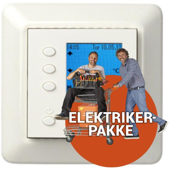 Ferdig montert termostat - Elko RS Super