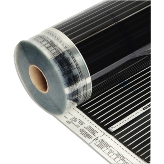 Varmefolie flexwatt 120cm bredde - 60w/m2